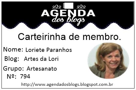 Carteirinha de Membro Agenda dos Blogs