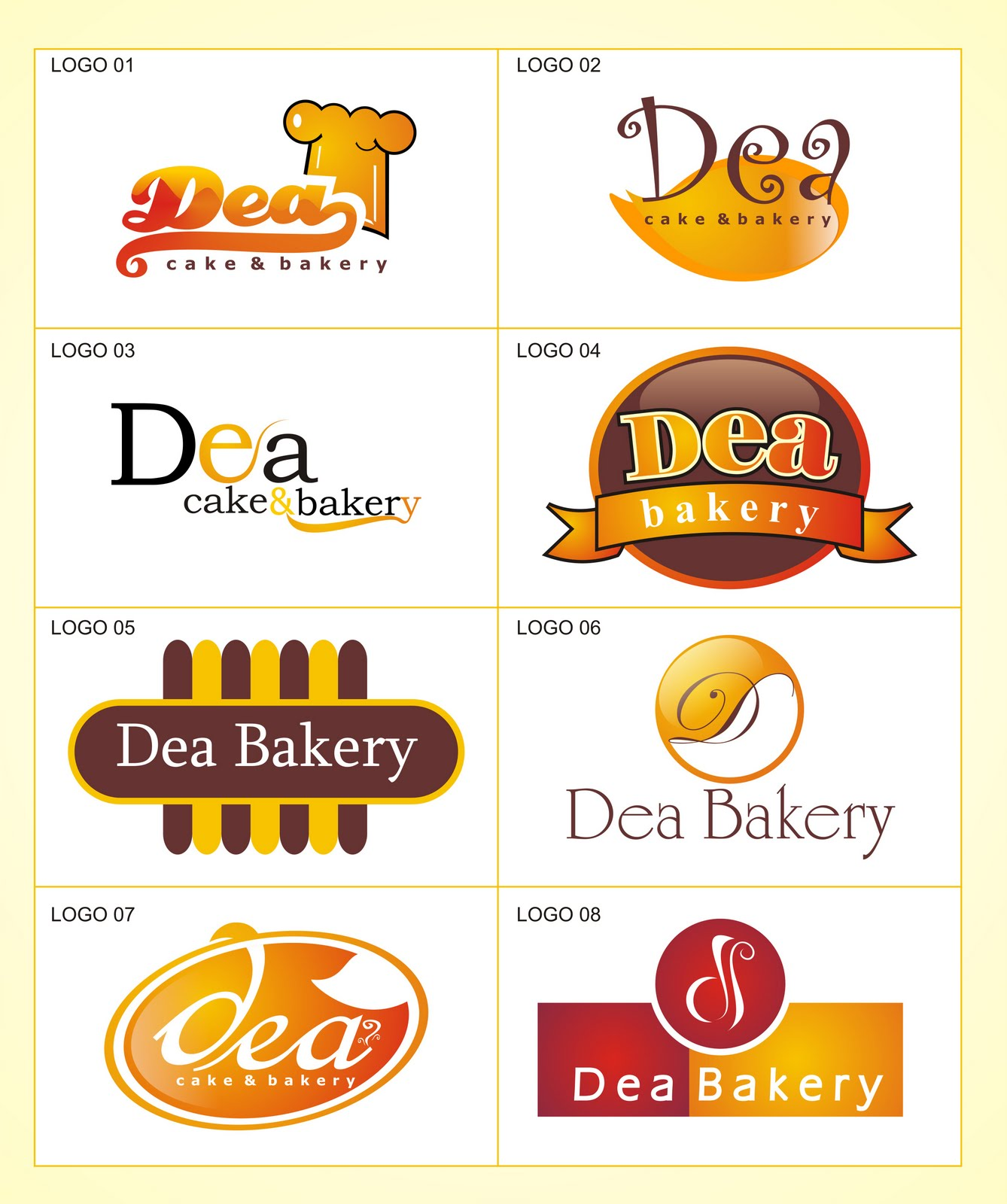 Design Logo Untuk Bakery : Joy Studio Design Gallery - Best Design