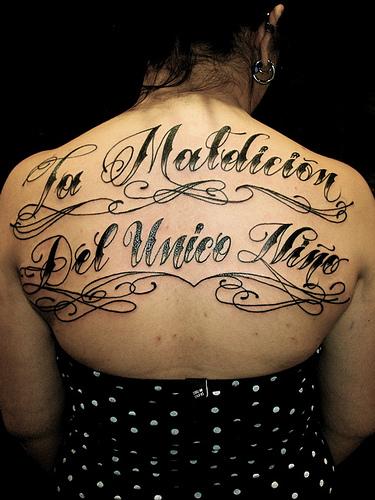 Cursive z tattoo