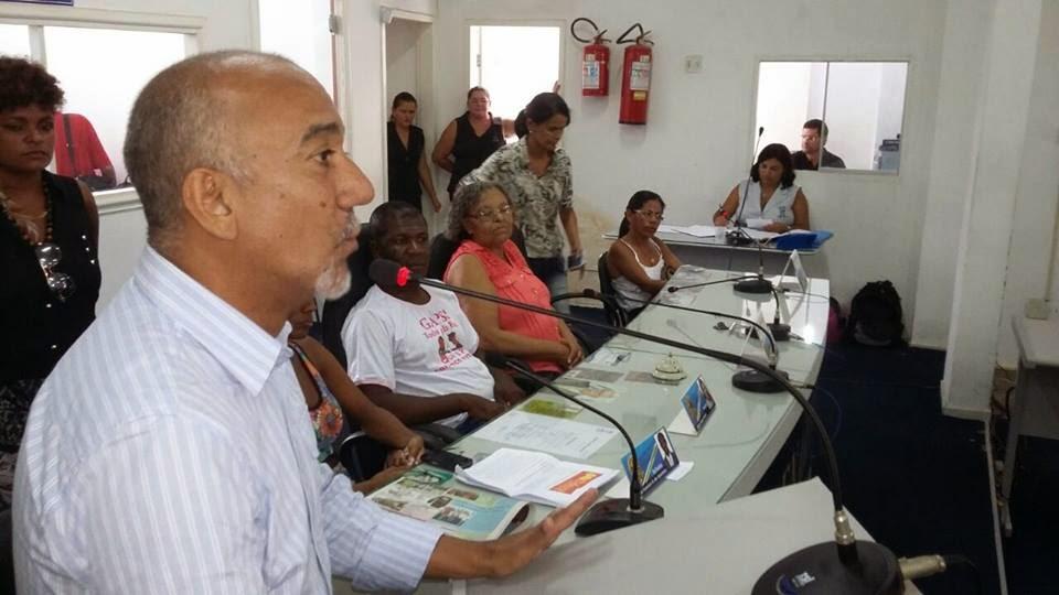 Serrinha:Edvaldo Teixeira Não se esconde do povo