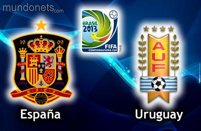 COPA CONFEDERACIONES 2013 ESPAÑA vs. URUGUAY