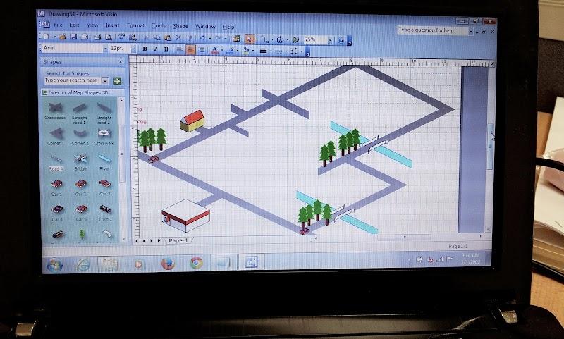 Software untuk buat peta dengan mudah...