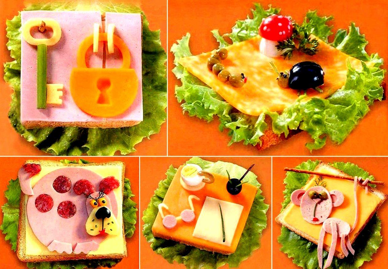 Как сделать блюда красивыми