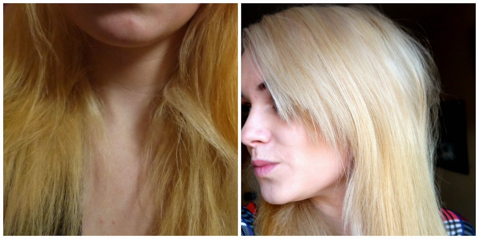how to go sandy blonde from orange