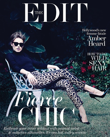 Amber Heard Covers Net-a-Porter's The Edit Magazine