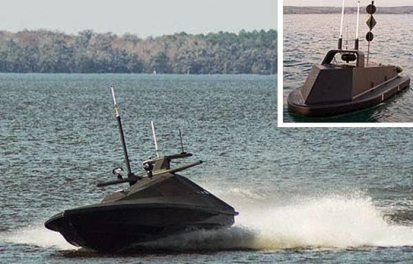 Perahu Nirawak, Senjata Terbaru Marinir AL Amerika