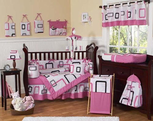 Girls Bedroom Ideas Modern Baby Bedding Crib Set by Jojo Designs ...
