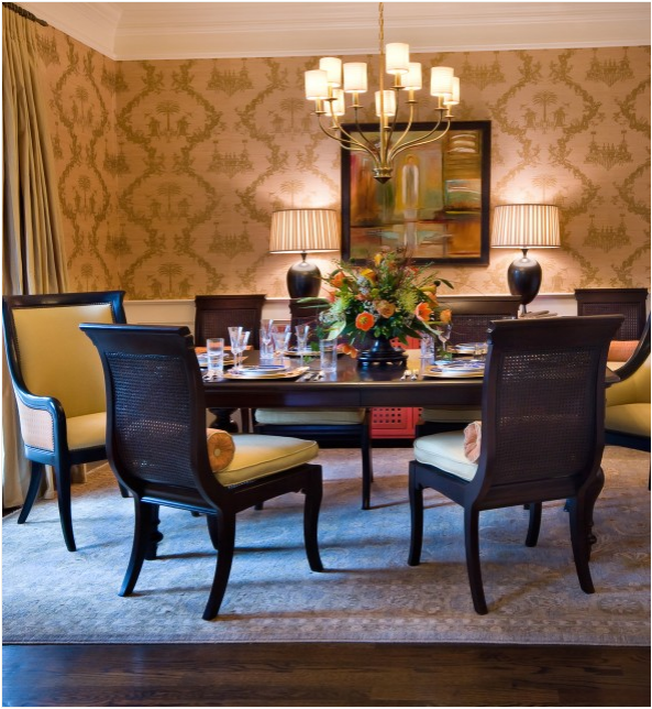 Asian dining room design ideas home interior for Asian themed dining room ideas
