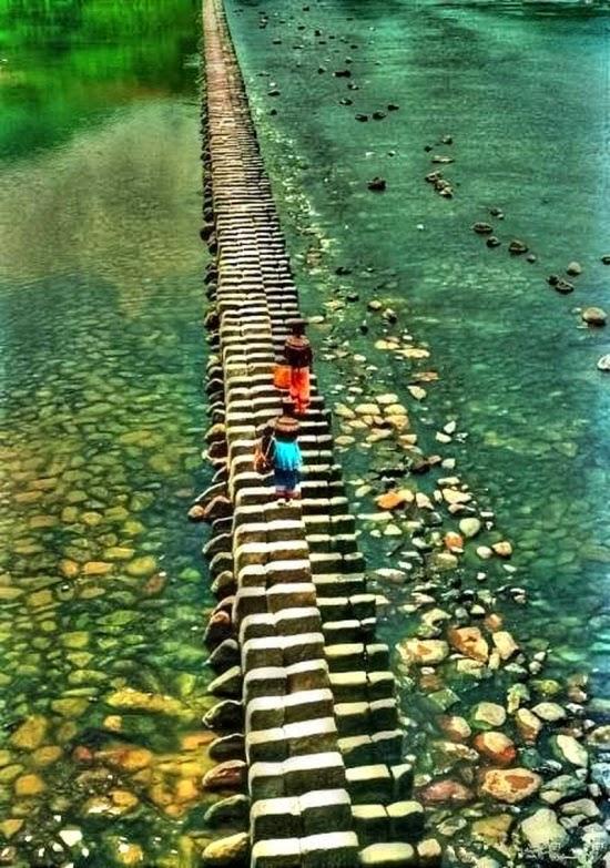 Мост «Пианино» в Китае