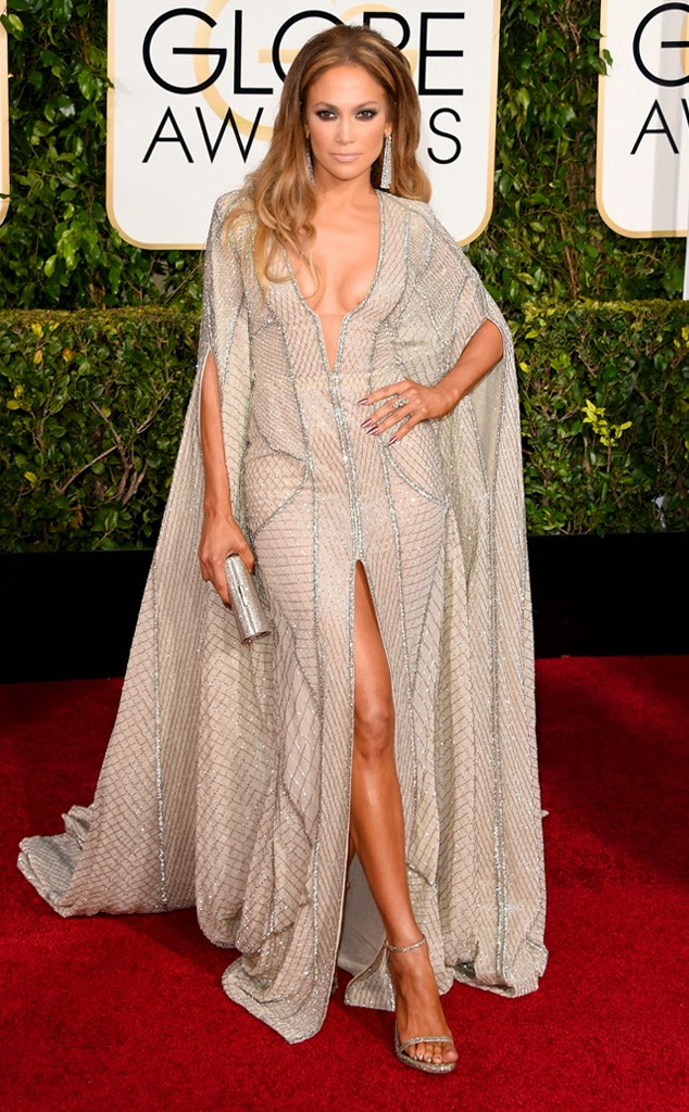 Jennifer Lopez Golden Globes fashion