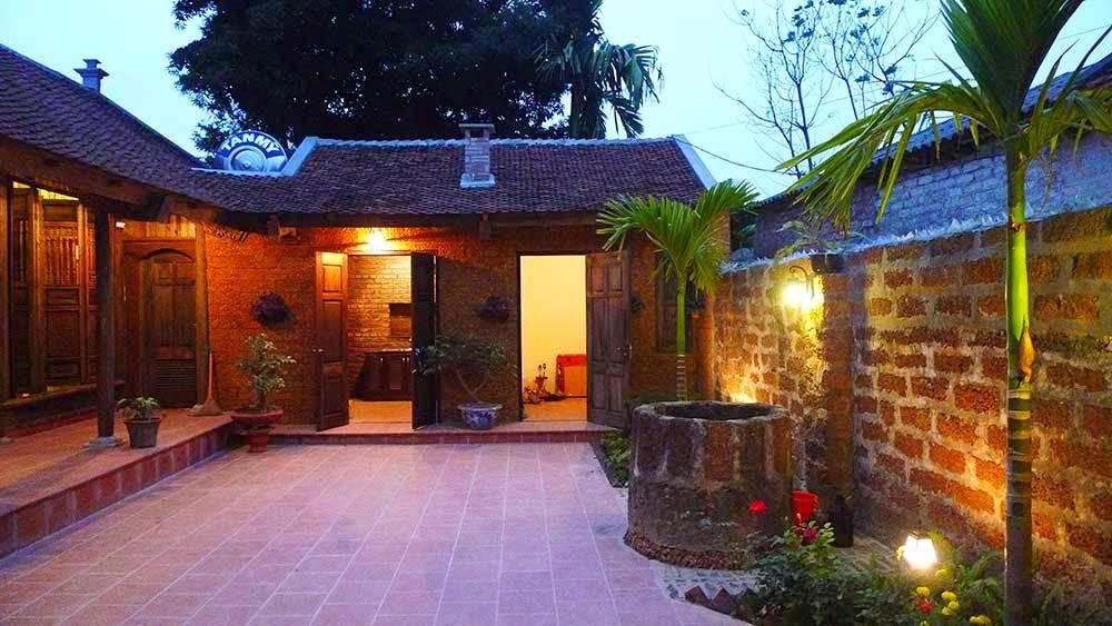 Homestay làng cổ Đường Lâm