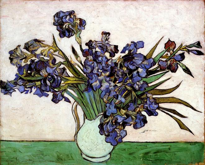 Vase with Irises, 1890
