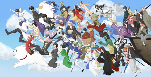 Dua OVA Untuk Anime Gintama Akan Bercerita Tentang Arc Love Potion