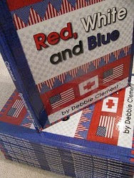 """Red, White and Blue"" by Debbie Clement: Song in Picture Book Format"