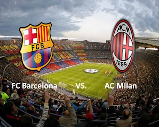 Barcellona Milan live streaming