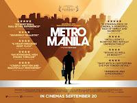 Metro Manila UK Poster