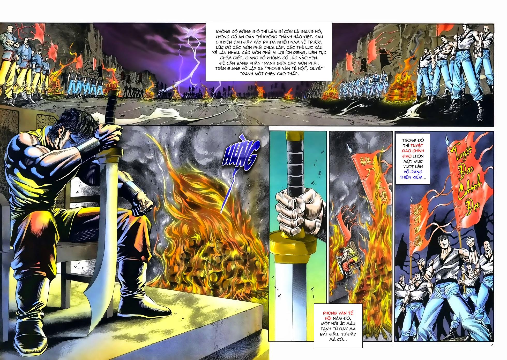 Long Hổ Phong Bạo chap 4 - Trang 4