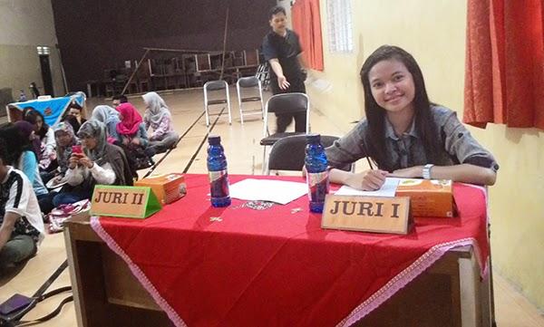 Aku menjadi JURI I di Festival Film Independen SMADA KREATIF 2015