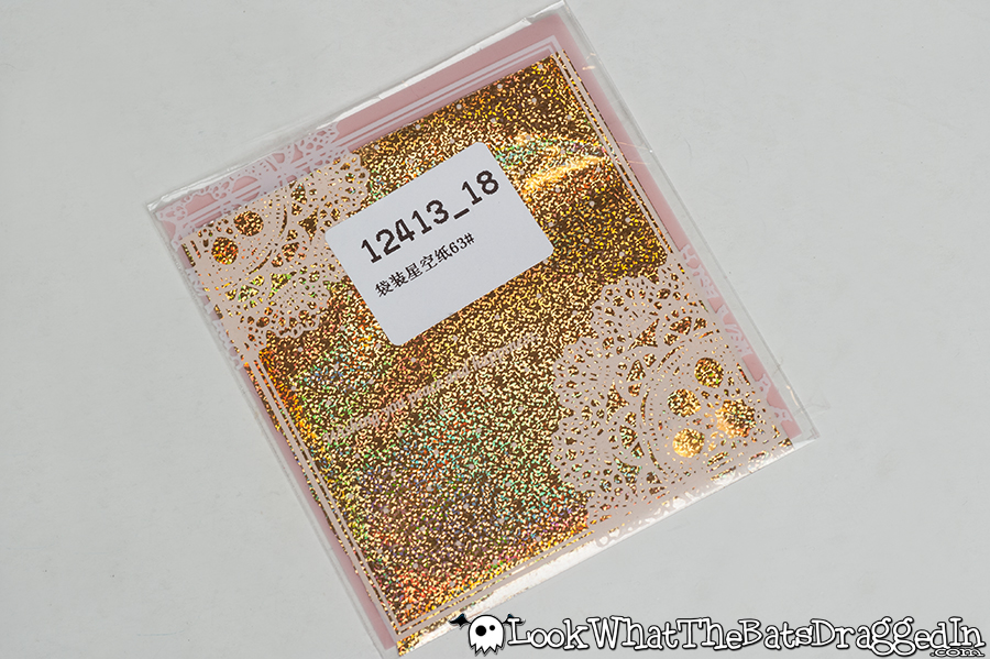 Review of BornPrettyStore gold nail art foils