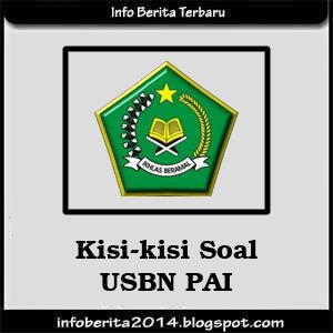 Kisi-kisi Soal USBN PAI 2014-2015