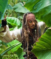 Jack Sparrow - Piratas do Caribe: Navegando em Águas Misteriosas