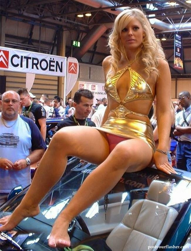 Beautiful california car shows with nude women would