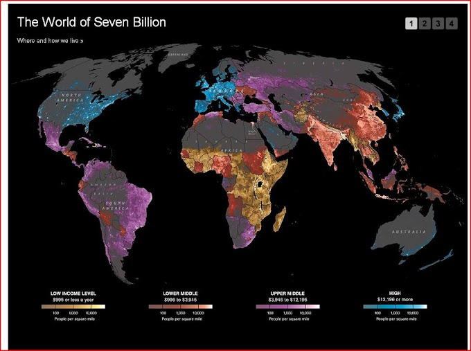 The World's Seven Billion People InfoGraphic