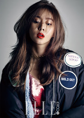 Uee After School Elle Magazine January 2016