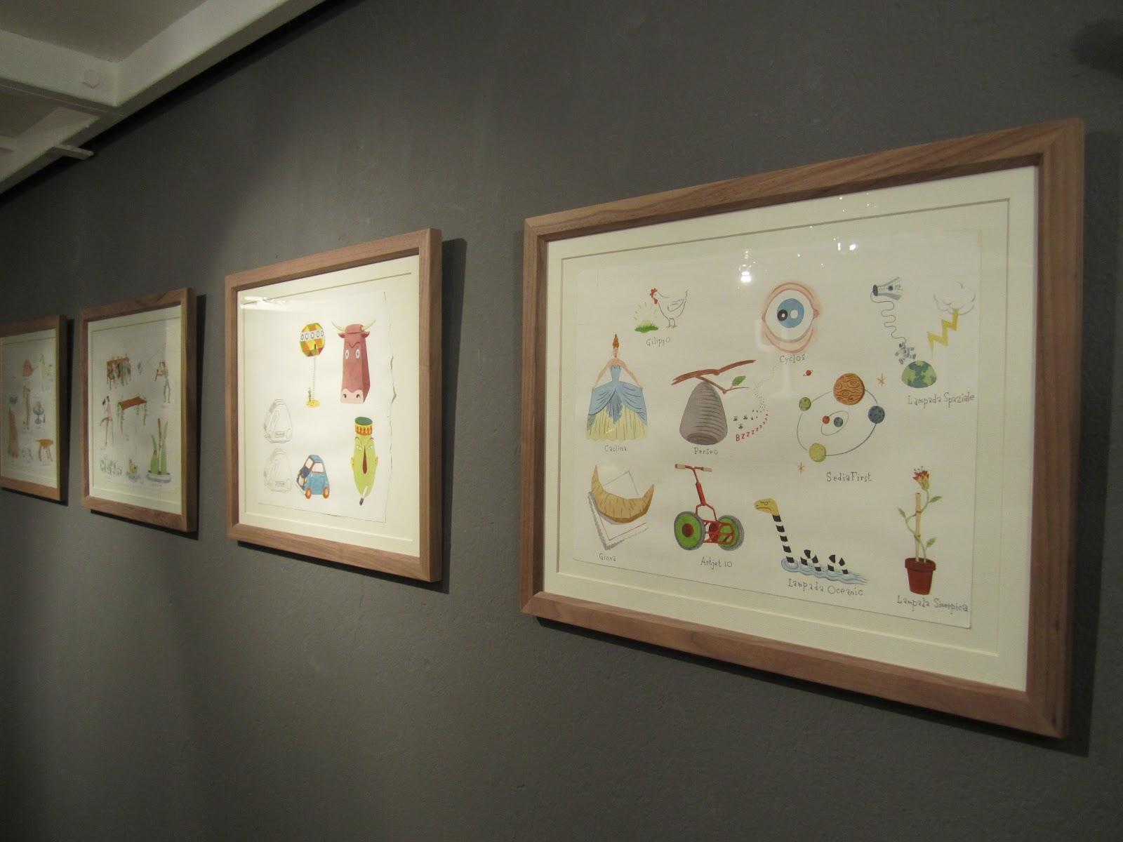 Fieri Di Leggere 2011: Evento Steven Guarnaccia PARTE PRIMA #9E732D 1600 1200 Piastrelle Cucina Disegnate