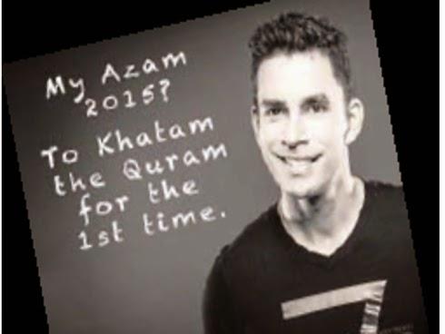 Kevin Zahri nekad khatam al Quran