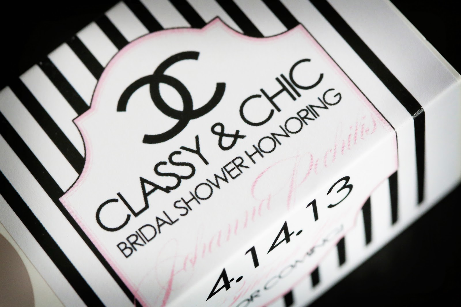 Boston wedding consultants chanel themed bridal shower filmwisefo