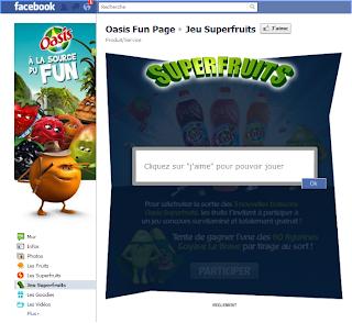 FanGate Concours Facebook Page et Timeline