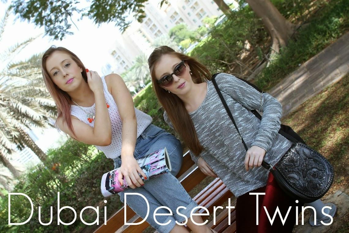 Dubai Desert Twins