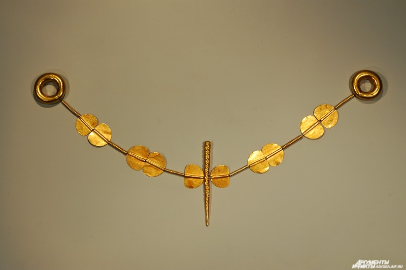 Najstarší zlatý náhrdelník v Európe sa nachádza v Adigeainom múzeu