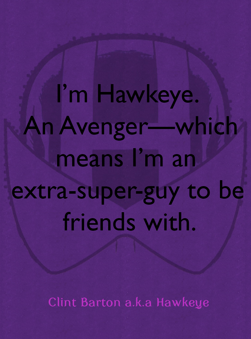 Hawkeye Comics Quote-4