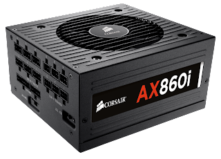 Corsair AX860i, AX760i Digital ATX Power Supply Specifications & Review screenshot 1