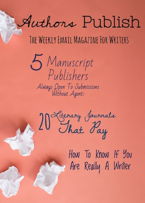 The Magazine for Writers| Find your Publisher here
