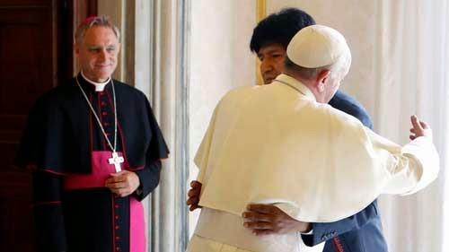 Evo confirma que el Papa Francisco llegará en julio directo a Tarija