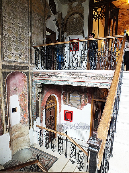 interior palat miclauseni