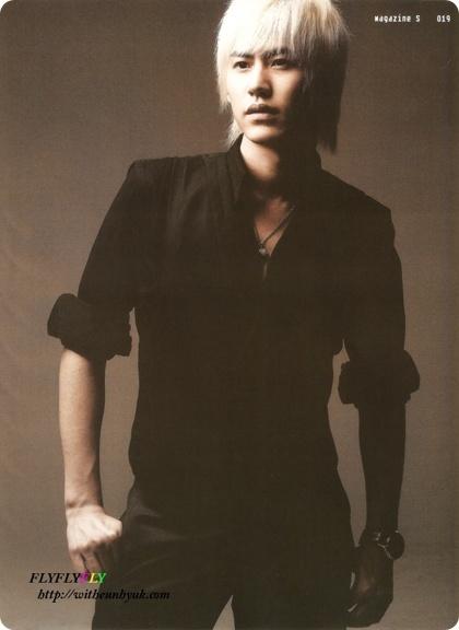 Kyuhyun 2007 Don't Don Comeback S Magazine kyuhyun blonde 2