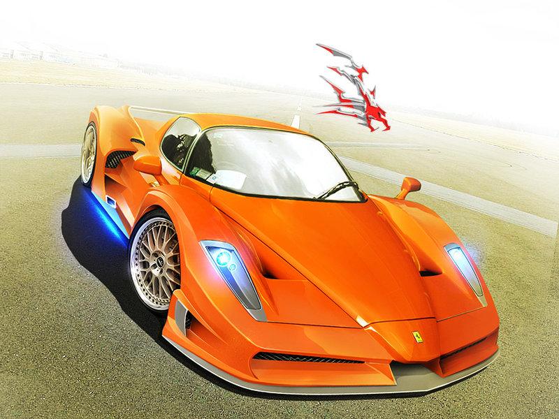 ferrari enzo orange - Ferrari Enzo 2020