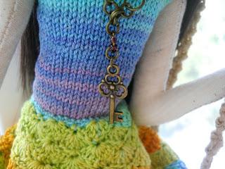 Текстильная кукла тряпиенс