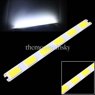 Super Bright 6 COB LED 12W Lamp Light Bulb 12V Cool White for DIY 6500K-7000K TS
