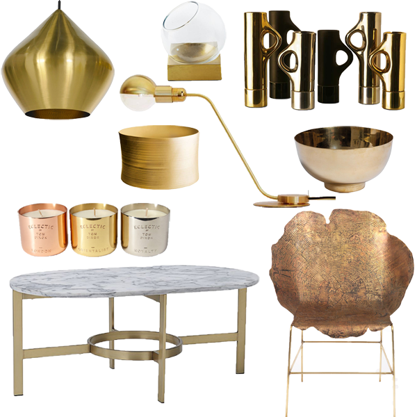 Brushed Brass Pendant Light Tom Dixon