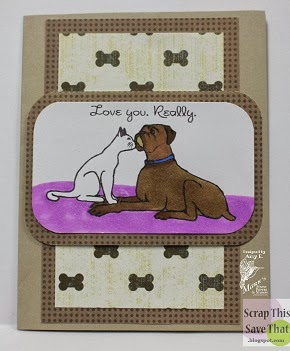 Puppy Love Card