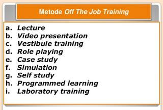 Pengertian Metode On The Job Training