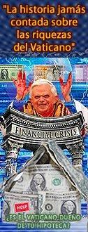 Ganancias Deshonestas del Vaticano: