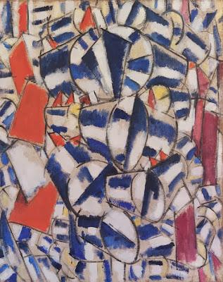 Fernand Léger - Contraste de formes,1913.