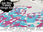 Ink Blot T-shirt Design Kits {for birthday parties & more}