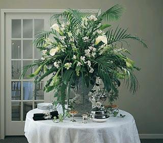 Decoracion de Mesas para Buffet, Centros y Arreglos Florales, parte 3